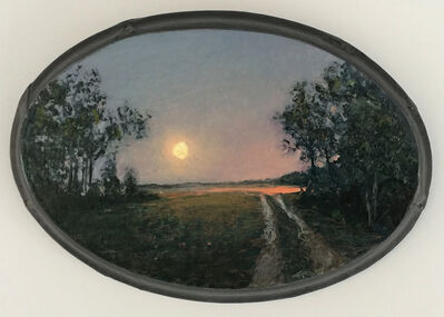 Adam Straus, 'Moonrise Long Island Country Road', 2005
