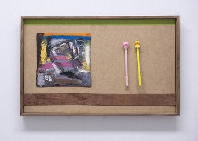 Diego Salvador Ríos, 'twoanimalfrenzzzzzhangin'@daskulpturgartën', 2018