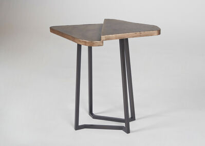Douglas Fanning, 'Triangles, Two Tiered Table', 2020