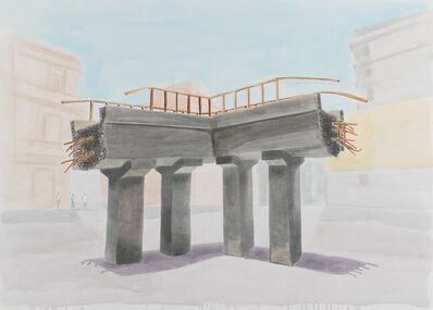 Juan Andrés Milanes Benito, 'Stone of madness', 2018
