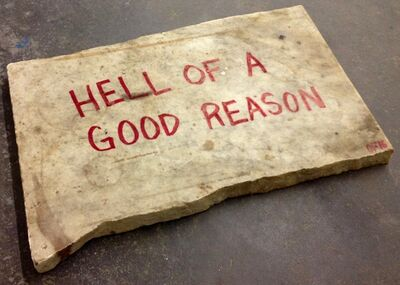 Oscar Figueroa, 'Hell of a Good Reason', 2016