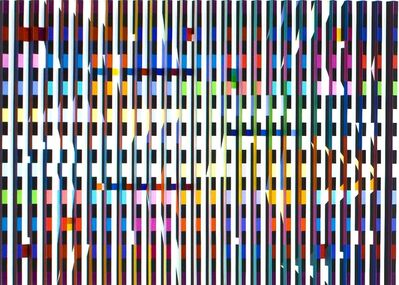 Yaacov Agam, 'Night and Day', 1980