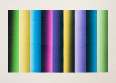 Polly Apfelbaum, 'Byzantine Roller 3', 2014