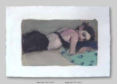 Malcolm T. Liepke, 'Reclining Woman', 2001