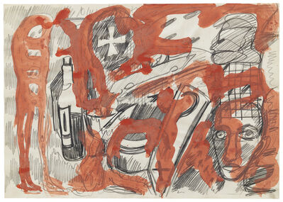 A.R. Penck, 'Untitled', ca. 1970
