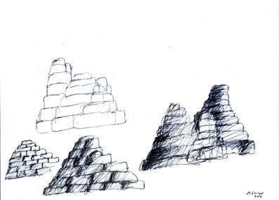 Michele de Lucchi, 'Schizzo per montagne', 2014