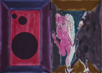 Chris Ofili, 'A Rave's Romance from Paradise by Night', 2010