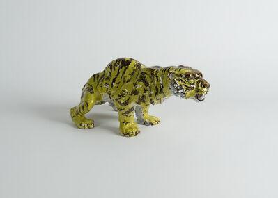 Jean-René Gauguin, 'Painted Sculpture of a Tiger', 1930-1939