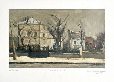 Maurice Brianchon, 'La Neige à Auteuil ', 1950
