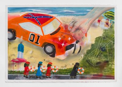 Pat Phillips, 'Untitled (cus he had fun fun fun & his daddy didn't take his T-bird away)', 2018