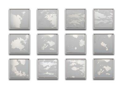 Miya Ando, '12 Months Clouds Grid', 2020
