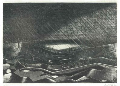 Paul Nash, 'Lake Zillebeke', 1917