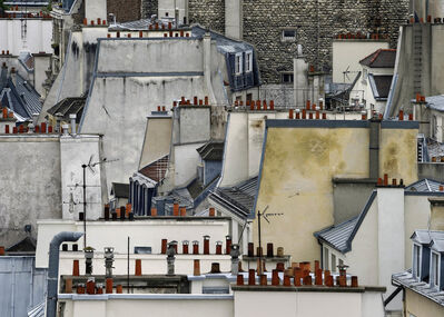 Michael Wolf (1954-2019), '#1, Paris Roof Tops', 2014