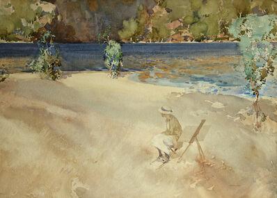William Russell Flint, 'Ultramarine and Gold', ca. 1920