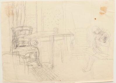 Jeanne Daour, 'Interior', 1940
