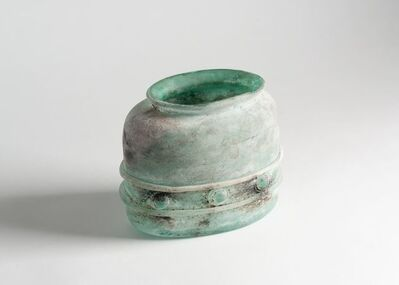 Cenedese, 'Rare Scavo Vase by Antonio Da Ros for Vetreria Cenedese', Italy-1983
