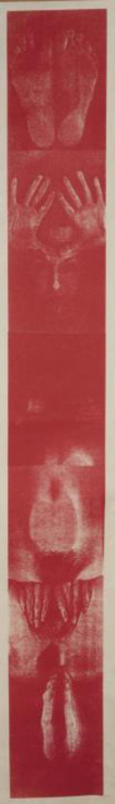 Penny Slinger, 'Woman Scroll', 1976