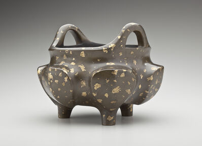 'Archaistic Censer with Splash Gilt; China', 1127-1279