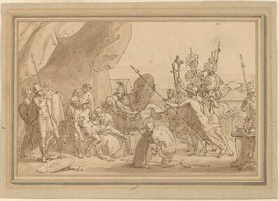 Benjamin West, 'Death of a General'