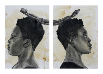 Robert Pruitt, 'Folding Space (diptych) ', 2015