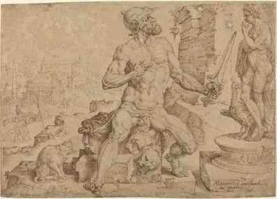 Maerten van Heemskerck, 'Simeon the Patriarch', 1549