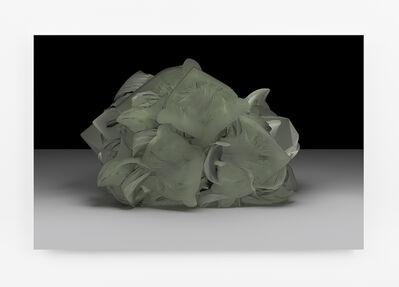 Sara Ludy, 'Cabbage Head (Energy Sponge)', 2015
