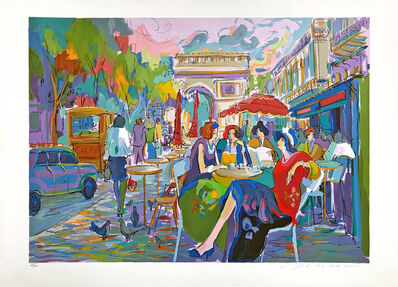 Isaac Maimon, 'BUS STOP CAFE', 1994