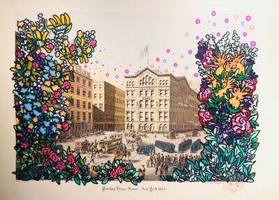 Chinon Maria, 'Printing House Square, New York 1864'
