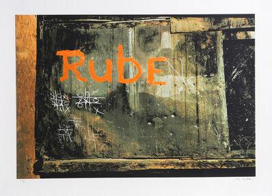 Jon Naar, 'Rube from Faith of Graffiti', 1974