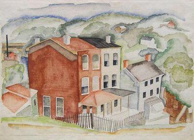 Morris Blackburn, 'Manayunk Houses', 1935