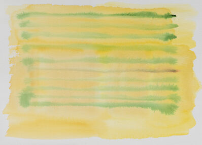 Felrath Hines, 'Yellow Stripes', ca. 1980