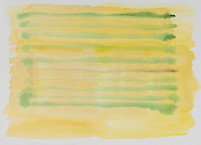 Felrath Hines, 'Yellow Stripes', ca. 1980