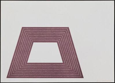 Frank Stella, 'Ileana Sonnabend', 1972