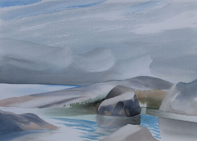 Toni Onley, 'Rocks, Georgian Bay, Ontario', 1993