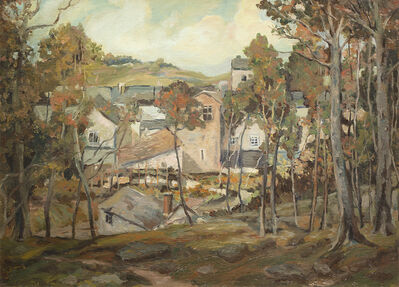 Walter Elmer Schofield, 'Cornish Village', ca. 1921