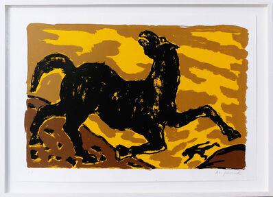 A.R. Penck, 'Pferd', 1993