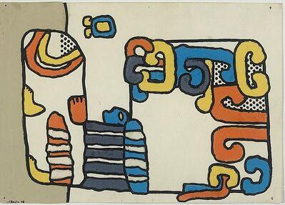 José Bedia, 'Estela Maya', 1978
