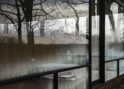 Richard Barnes, 'Condensation From Exterior Looking In, Glass House', 2014
