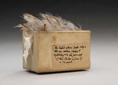 Lenore Tawney, 'Untitled (Feather Box)', 1980s
