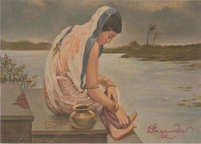 Hemen Majumdar, 'Monsoon', NA