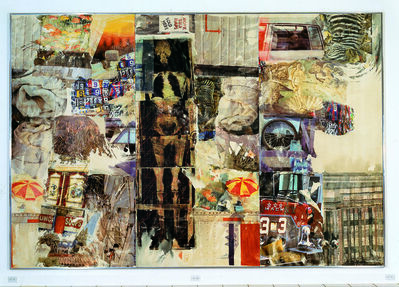 Robert Rauschenberg, 'Mirthday Man [Anagram (A Pun)]', 1997