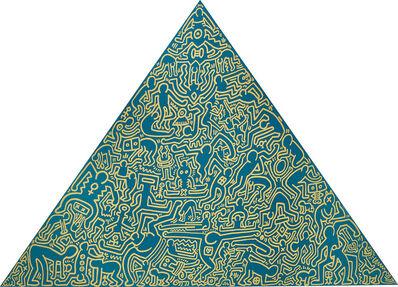Keith Haring, 'Pyramid', 1989