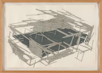 Tadashi Kawamata, 'Site plan1', 1991