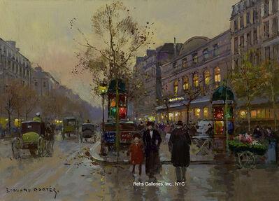 Edouard Léon Cortès, 'Theatre du Gymnase, Boulevard Bonne-Nouvelle'