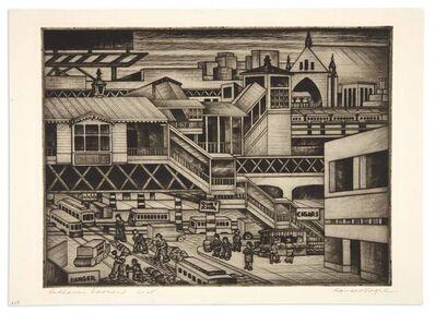 Donald S. Vogel, 'BEDLAM CORNERS', circa 1940