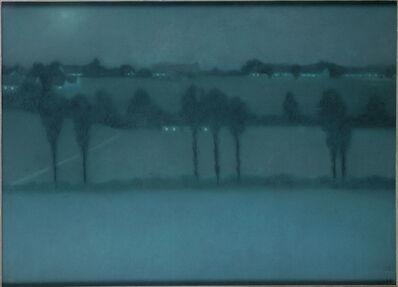 William Degouve de Nuncques, 'Night effect', 1896