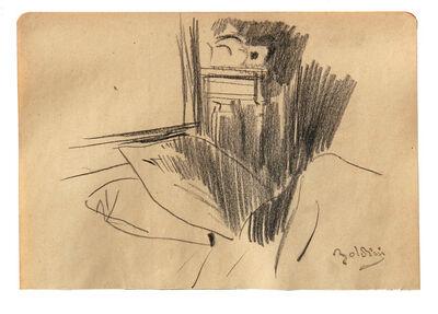 Giovanni Boldini, 'Angolo di camera da letto'