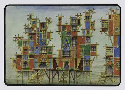 Xul Solar, 'Proyecto fachada para Elsetta (Facade Project for Elsetta)', 1954