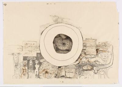 Ibrahim El-Salahi, 'Recollections', 1969
