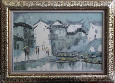 Zhang Shengzan 张胜赞, 'Waterside town', 2008
